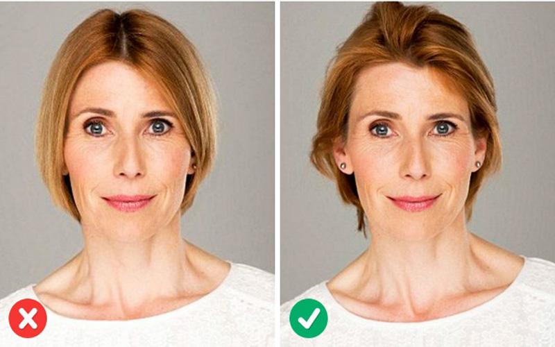 Как с помощью прически выглядеть моложе