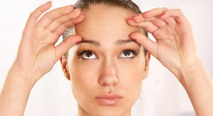 Упражнения от мимических морщин вокруг глаз