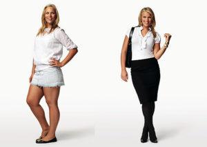 Как выглядеть моложе своих лет - сбросить вес
