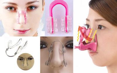 Механическая коррекция носа