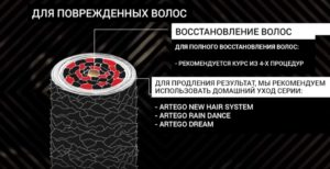 Ботокс для волос Artego