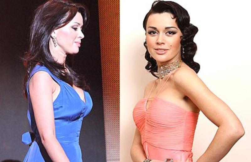 Пластика звезд до и после - Анастасия Заоротнюк