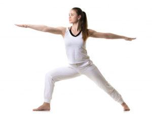 Упражнения воин для увеличения груди