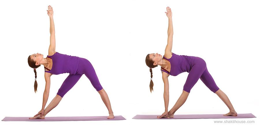 Упражнение треугольник для увеличения груди